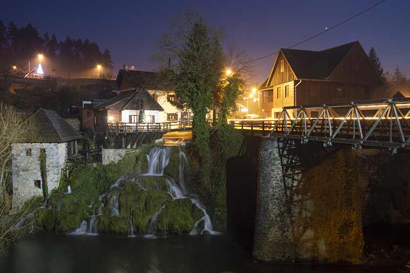 Χωριό Rastoke - Κροατία
