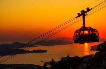 Ηλιοβασίλεμα στο Dubrovnik