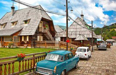 Το χωριό του Κουστουρίτσα, στη Σερβία