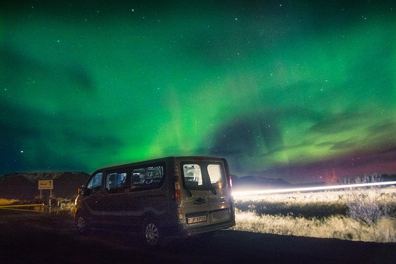 Aurora Iceland Altervan