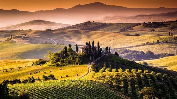 Τοσκάνη Ιταλία Roadtrip Altervan