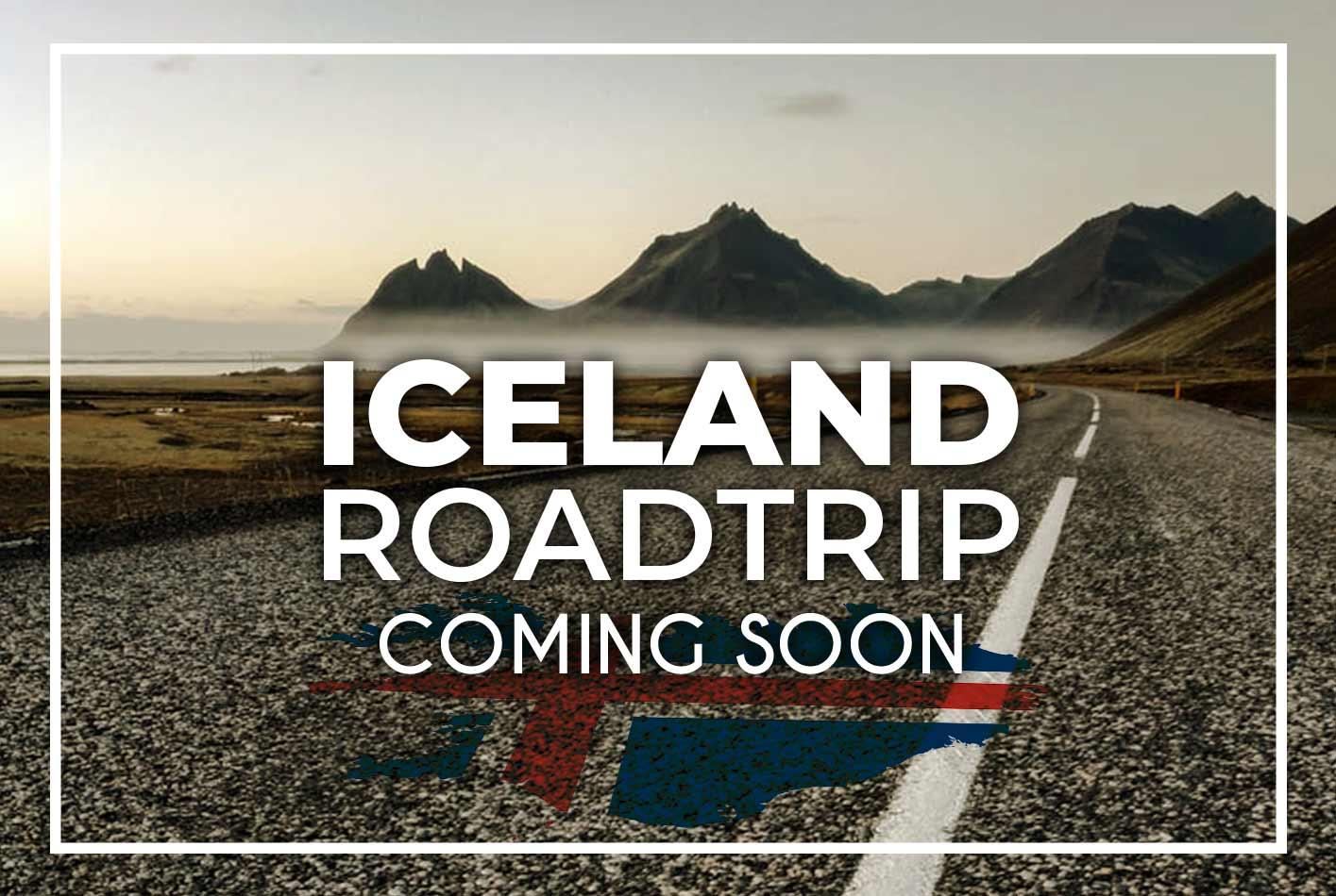Ισλανδία δρόμος βουνά ταξίδι