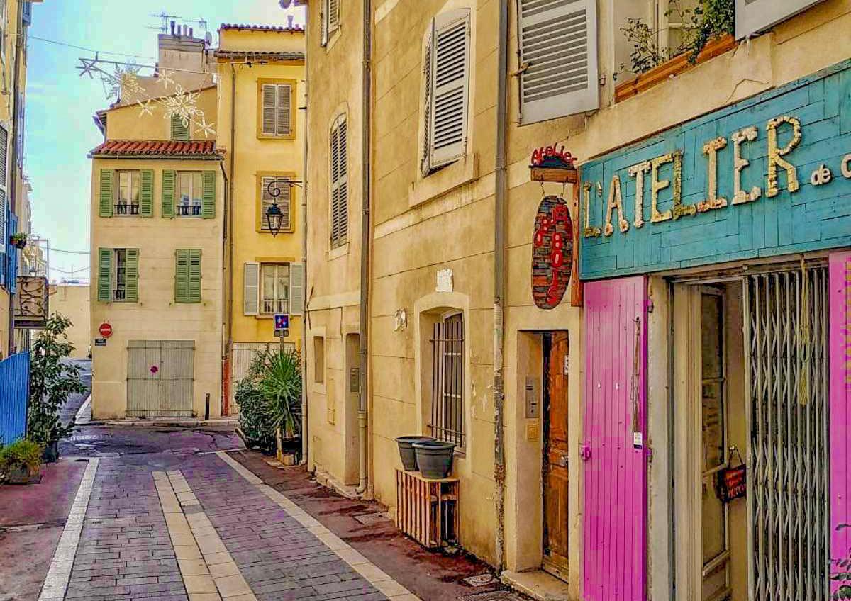 Μασσαλία le panier