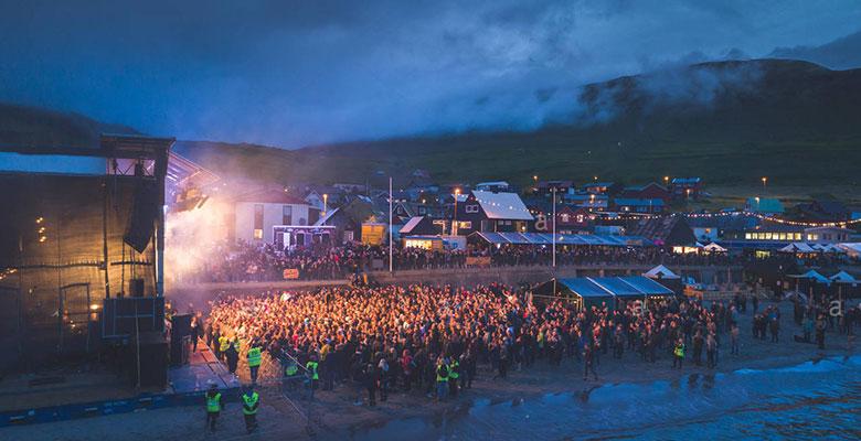 G festival Φερόες, νυχτερινή φωτογραφία